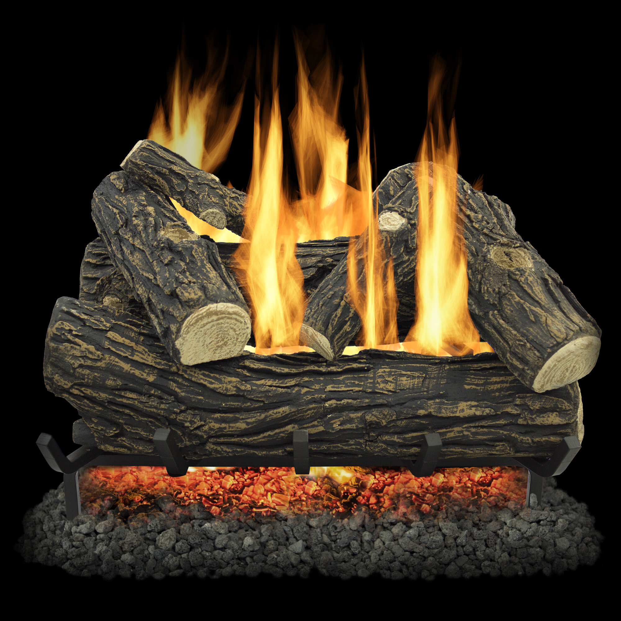 Gas Logs Gas Fireplace Inserts Logs You Ll Love In 2021 Wayfair