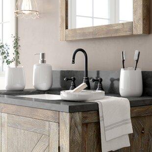 Affordable Price Zenobia 4 Piece Bathroom Accessory Set ByLaurel Foundry Modern Farmhouse