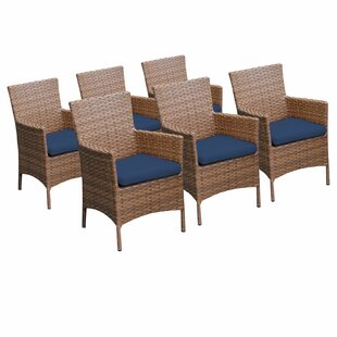 Laguna Patio Dining Chair with Cushion (Set of 6)