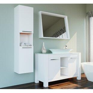 Ellison 47 Single Bathroom Vanity Set with Mirror by Corrigan Studio