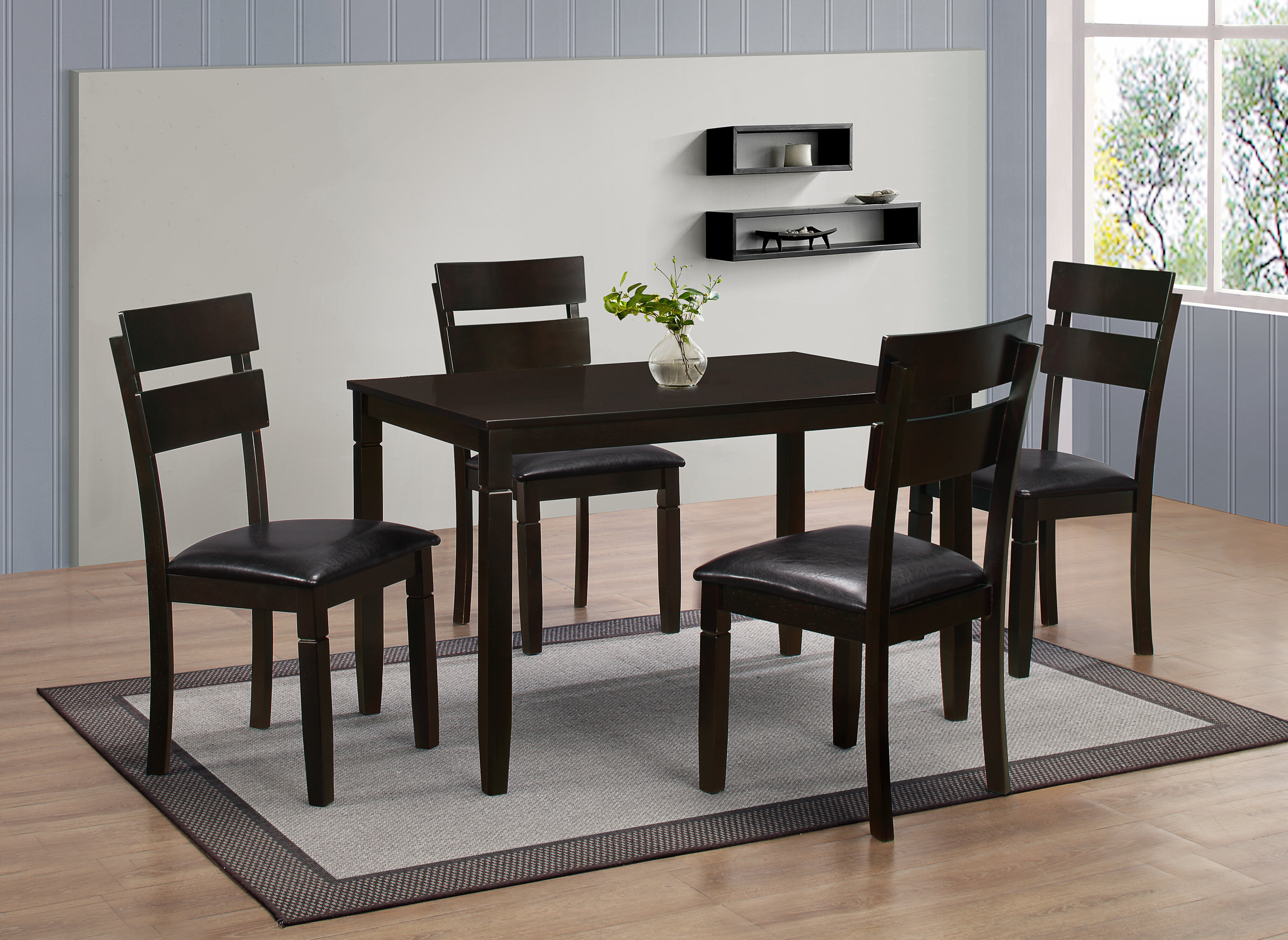 Red Barrel Studio Winnetka 5 Piece Dining Set Wayfair