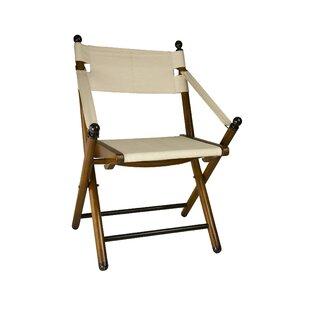 Campaign Folding Beach Chair with Cushion