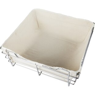 Savings Canvas Basket Liner By Hardware Resources