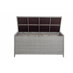 Wicker Deck Box by Summer Classics