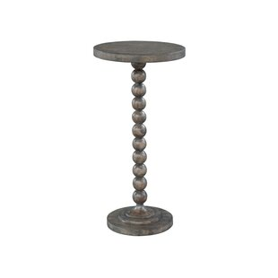 Laney Beaded Post End Table by One Allium Way