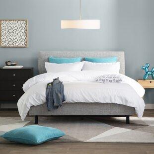 Buy clear Keating Upholstered Platform Bed by Trule Teen Reviews (2019) & Buyer's Guide