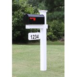 The Harrison Post Mounted Mailbox