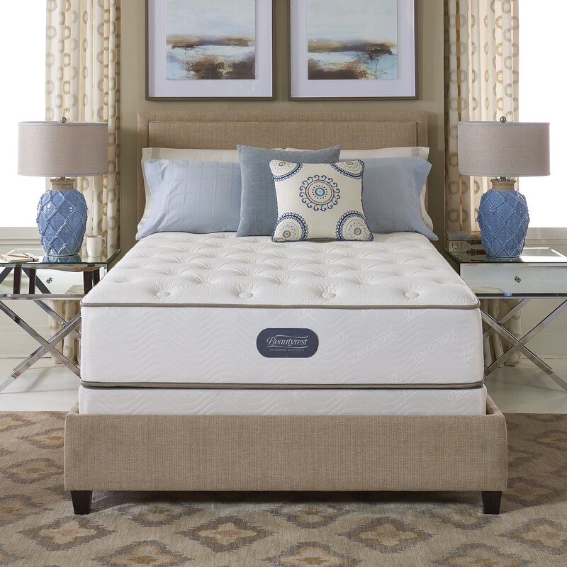 "Beautyrest Two-Sided 12"" Plush Innerspring Mattress and Box Spring"
