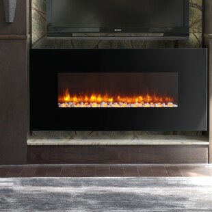 LED Wall Mount Electric Fireplace By Dynasty Fireplaces