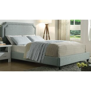 Haralson Queen Upholstered Platform Bed by Alcott Hill