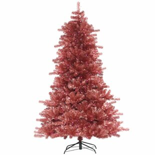 9 Pine Artificial Christmas Tree With 1000 Pink Lights