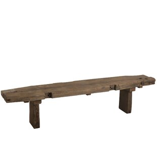 Offerman Wooden Bench By Alpen Home