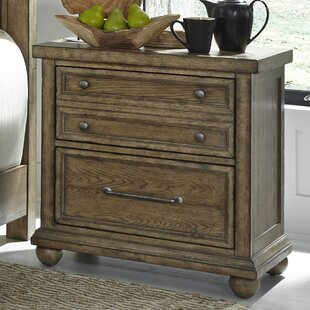 Habersham 2 Drawer Nightstand by Three Posts