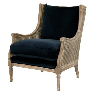 Deville Wingback Chair by One Allium Way