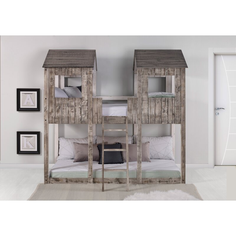 Scholz Twin over Twin Bunk Bed