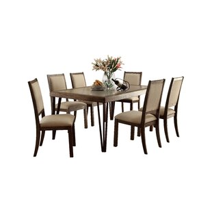 Shelby 7 Piece Dining Set Canora Grey