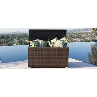 All Weather Crosson Wicker Deck Box