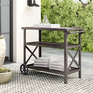 Noreen Bar Serving Cart By Sol 72 Outdoor