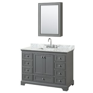 Deborah 48 inch  Single Bathroom Vanity Set with Medicine Cabinet