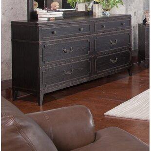 Leatherhead 6 Drawer Dresser by Gracie Oaks