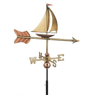 Bossett Sail Boat Weathervane By Sol 72 Outdoor