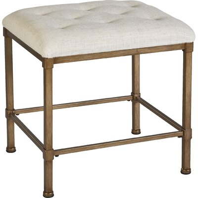 Gwyneth Backless Vanity Stool by Beachcrest Home
