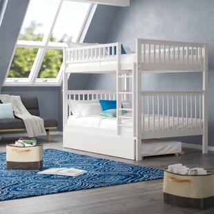 Online Reviews Shyann Bunk Bed with Trundle by Viv + Rae Reviews (2019) & Buyer's Guide