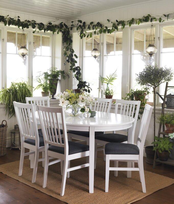 werkstadt essgruppe wittsk r mit ausziehbarem tisch und 6. Black Bedroom Furniture Sets. Home Design Ideas