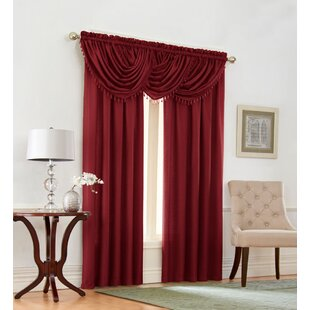 Shenandoah 5 Piece Solid Room Darkening Rod Pocket Curtain Panels Set (Set of 2) by Darby Home Co