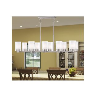Latitude Run Levi 10-Light Kitchen Island Pendant