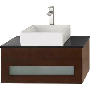 Read Reviews Rebecca 31 Single Bathroom Vanity Base Only ByRonbow