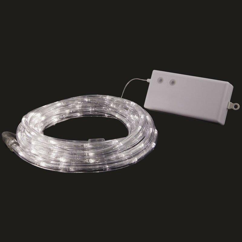 100 Light Led Battery Rope