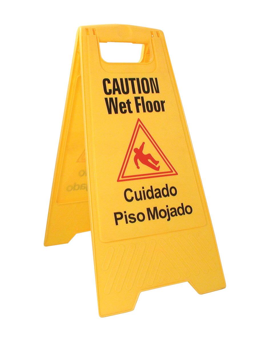Update International Wet Floor Caution Sign Wayfair