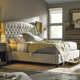 Julesburg Upholstered Panel Bed by Trent Austin Design