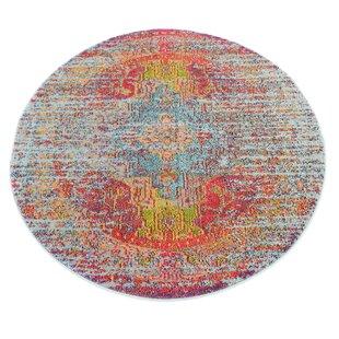 Newton Tibetan Blue Area Rug by World Menagerie