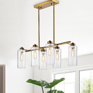 Brayden Studio Easterbrooks 6-Light Kitchen Island Pendant