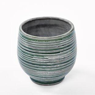 Sneha Ceramic Plant Pot (Set Of 2) By World Menagerie