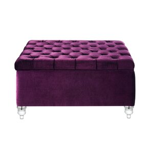 Purple Ottomans Poufs Youll Love Wayfair