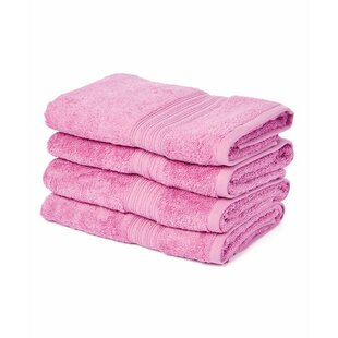 Urich 100% Cotton Hand Towel (Set of 4)