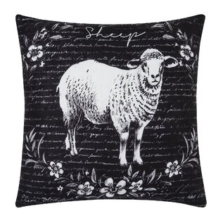 Prasad Sheep Indoor/Outdoor Throw Pillow