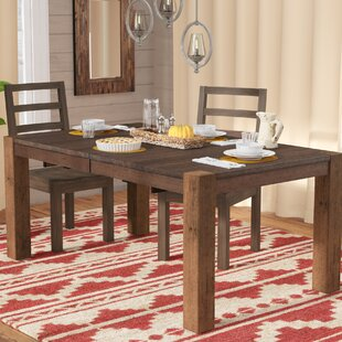 Trevion Leg Extendable Dining Table Mistana