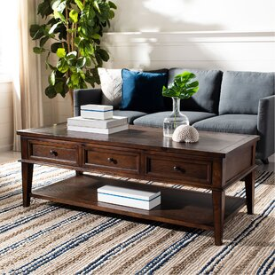 Yelena Coffee Table with Storage by Rosecliff Heights