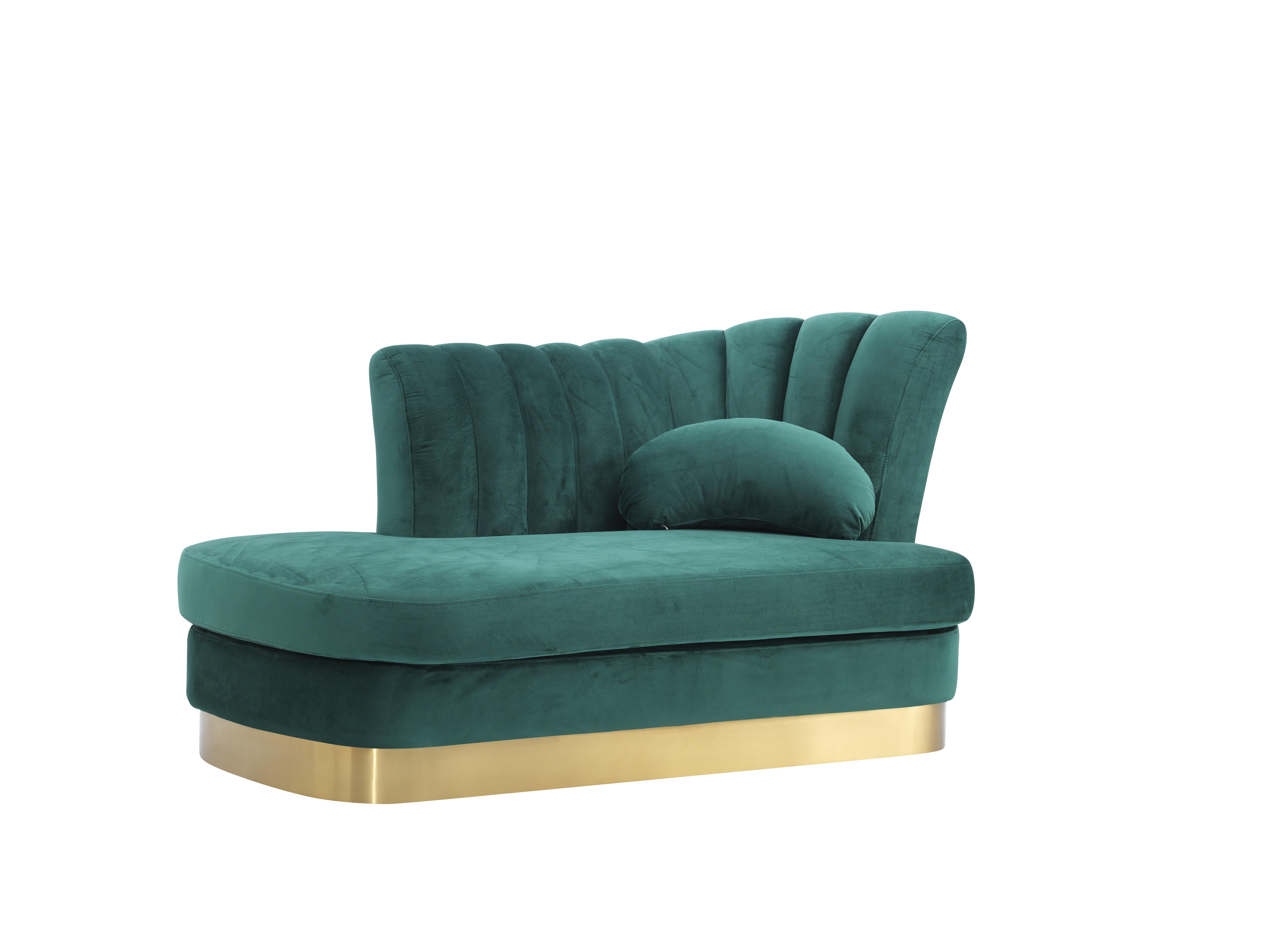 Everly Quinn Peggie Modern Chaise Lounge Wayfair