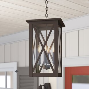 Aticus 4-Light Outdoor Hanging Lantern