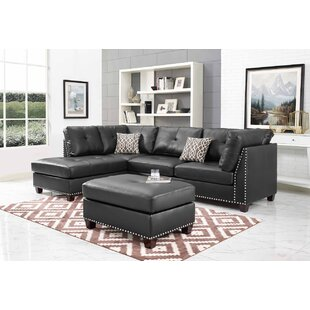 Larchwood Sectional with Ottoman