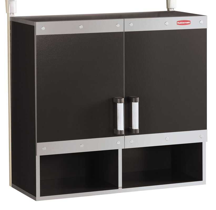Fast Track Hanging Wall Cabinet By Rubbermaid