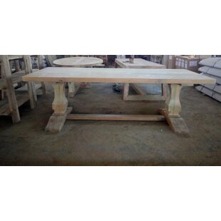 Evander Solid Wood Dining Table