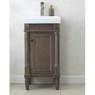 Save Gracie Oaks Malena 18 Single Sink Bathroom Vanity Set