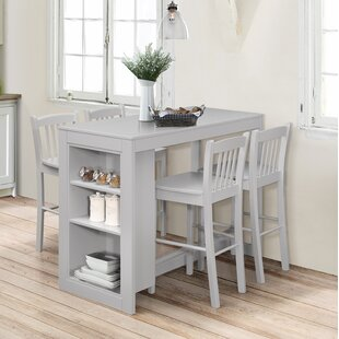 Guide to buy Amandes Pub 5 Piece Table Set ByAlcott Hill