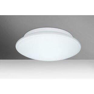 Besa Lighting Sola 3-Light LED Outdoor Flush Mount